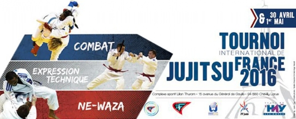 TOURNOI INTERNATIONAL DE FRANCE JUJITSU