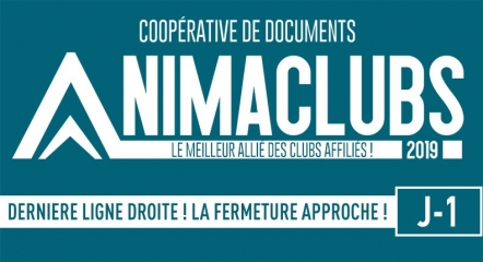 ANIMACLUBS - FERMETURE LE 31/10/2019