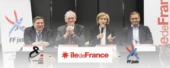 PARTENARIAT : SIGNATURE D'UNE CONVENTION ILE DE FRANCE/FFJUDO/LIGUE ILE DE FRANCE DE JUDO
