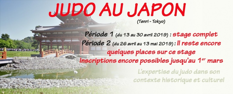 STAGES JAPON
