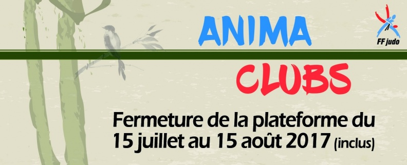Fermeture d'AnimaClubs