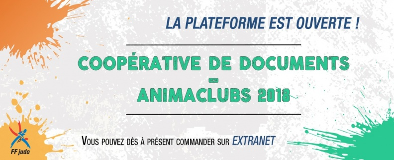 COOPÉRATIVE DE DOCUMENTS - ANIMACLUBS 2018