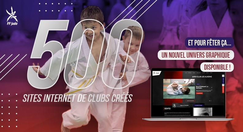 SITES CLUBS - LE CAP DES 500 SITES ATTEINT !
