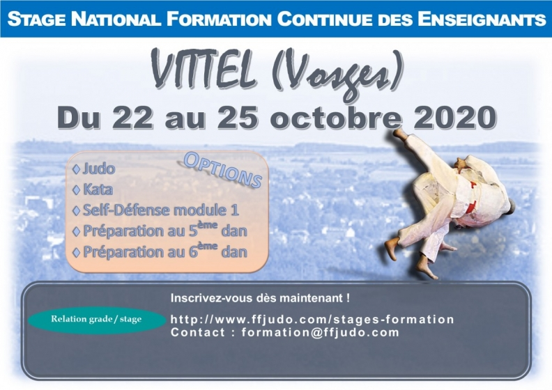 STAGE NATIONAL FORMATION CONTINUE DES ENSEIGNANTS