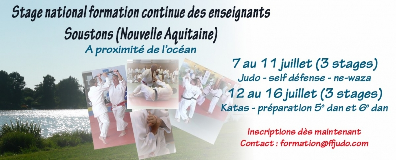 FORMATIONS - STAGE NATIONAL À SOUSTONS